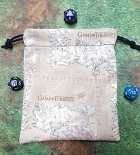 Game of Thrones Map dice bag