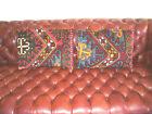Antique Caucasian Oriental Rug Pillows