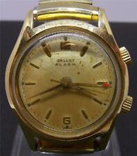 Rare Vintage Gallet Alarm Man's Watch 17 Jewels