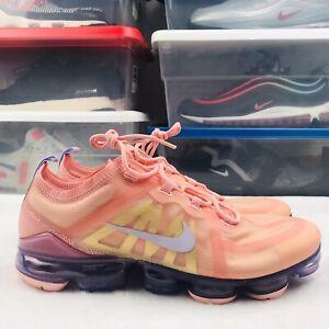 Nike Air Vapormax 2019 Womens Sz 12 Coral Amethyst Running Shoes AR6632 603 New
