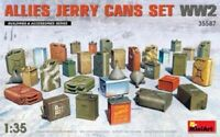 Miniart 1:35 scale model kit  - Allies Jerry Cans Set WWII MIN35587