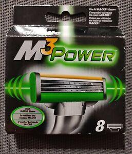 Gillette M3 Power Mach3 Innovation 8 Lames de Rasoir