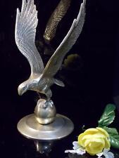 Large Brass Eagle gold metal bird vintage figurine statue southwestern art 9-1/2
