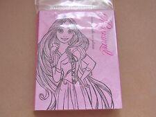 Official Disney * Princess Rapunzel Sticky Memo Book * Art Japan Limited Tangled