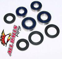 04-09 Kawasaki Kfx 700 V-force All Balls Front Wheel Bearings Seals (2) 25-1035