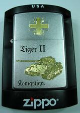 ZIPPO Wehrmacht  Panzer Tiger II Königstiger
