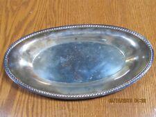 Antique International Silver Company 674 Oval Bread Tray