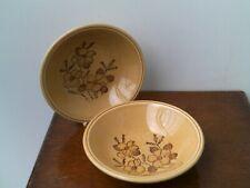Vintage Bilton's 'Staffordshire Ironstone' (Mustard Brown) Floral Design  Cereal