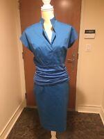 Akris Punto Skirt Suit Blue Size 6