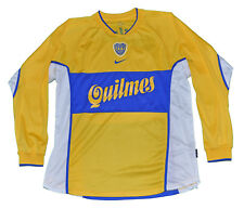 Boca Junior Argentina long sleeves Jersey shirt Nike M 2001 away model Yellow