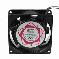 Roulement à billes 8cm 80mm ac 220V 240V 80x25mm industriel métal ventilateur de refroidissement 2 wire