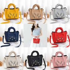 Elegant Women Luxury Handbag Sequins PU Leather Shoulder Messenger Crossbody Bag