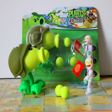 Plants vs Zombies Action Figures Toy Peashooter & Egypt Zombie Kid PVC Figurines