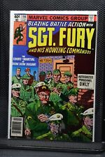 Sgt Fury and His Howling Commandos #156 Marvel 1980 Stan Lee Blazing Battle 8.5