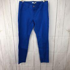 BB Dakota Pool Blue Crop Skinny Jeans Size 30 NWT