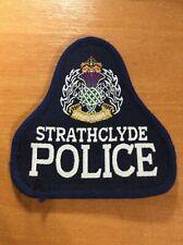 SCOTLAND UNITED KINGDOM GREAT BRITAIN PATCH POLICE STRATHCLYDE - ORIGINAL