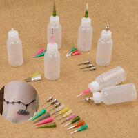 16 Nozzle+2 Bottle Henna Applicator Paste Tattoo Body Art Drawing Making Tool FT