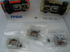 Tyco Slot Car 1982 HP7 Motor and Pinion Gear Set ~ free USA shipping
