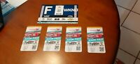 4 NASCAR TICKETS TO FAHSHIELD 500+FRIDAY&SATURDAY RACES + PARKING PASS on ASILE