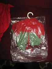 """Annette Himstedt Red and Green 20"""" Sweatsuit"""
