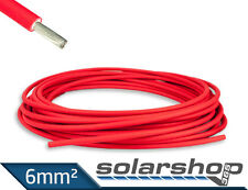 PV Kabel 6mm² Solar ROT Kable double isoliert