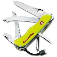 NEW SWISS ARMY 53900 SWISS RESCUE  YELLOW TOOL VICTORINOX KNIFE GREAT SALE PRICE
