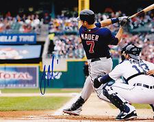 Joe Mauer 8x10 Photo MLB Baseball Minnesota Twins AL MVP All Star AL Central