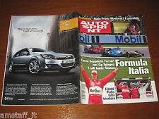 AUTOSPRINT 2004/19=GP F1 SPAGNA=MICHAEL SCHUMACHER=RALLY COSTA SMERALDA=