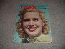 LOOK Magazine SEPT 1939 Brenda Joyce Benito Mussolini USC Football King George