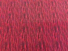 Paintbrush Studio - Black Is Back #761 - Black + Red Fabric - 100% Cotton Fabric