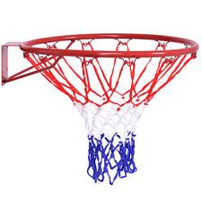 "Basketball Ring Hoop Net 18"" Wall Mounted Outdoor Hanging Basket Professional"