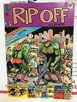 Rip Off Comix #3 Freak Brothers & Fat Freddy's Cat Gilbert Shelton 1978 Comic