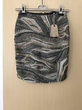 Gorgeous All Saints Embellished Skirt.BNWT.Size 8.RRP:£250