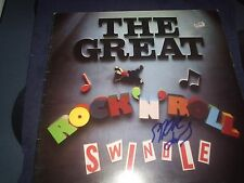 "SEX PISTOLS SIGNED RECORD STEVE JONES ""GREAT R&R SWINDLE"" UK RARE! L@@K PROOF!"