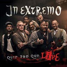 IN EXTREMO - QUID PRO QUO - LIVE   CD NEU