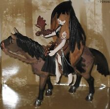 Schleich Elfen Surah Elf Figure & Horse 70406 New