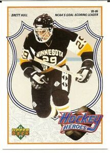 1991-92 Upper Deck Brett Hull Hockey Heroes #3