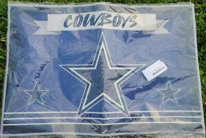 """Dallas Cowboys Bath Mat Area Rug 23"""" x 16"""" NEW SEALED"""