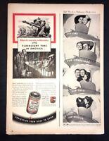 Life Magazine Ad BOND FLASHLIGHT BATTERY 1944 Ad