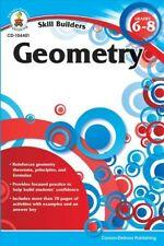 Skill Builders Geometry Grades 6-8, Paperback by Carson-Dellosa Publishing Co...