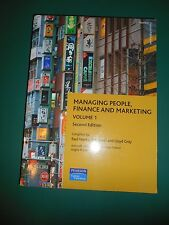 Managing People, Finance and Marketing, Vol 1. P. Weeks, B.Scott, L.Gray