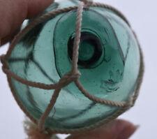 "Vtg Japanese Glass Fishing Float, 2.46"", Emerald Green, Wp Mark #24, Free Ship"
