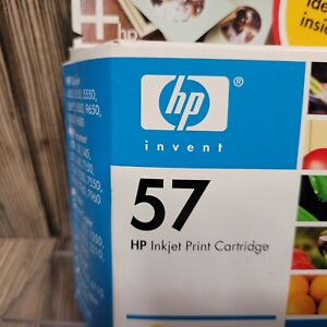 New Genuine HP #57 (C6657AN) Tri-Color Ink Cartridge SEALED BOX