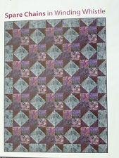 SPARE CHAINS Batik 61 X 81 Quilt Kit -- Winding Whistle