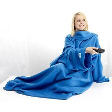 kosy Abrazo Manta CON MANGAS POLAR Snuggle Cálido Cómodo Envolvente