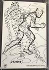 RARE 1984 Los Angeles Olympics  Art Poster Ltd Edition By Jonathan Borofsky