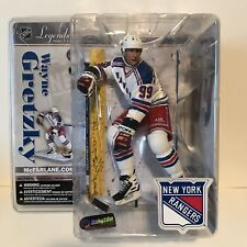 WAYNE GRETZKY MCFARLANE NHL LEGENDS HOCKEY SERIES 3 NEW YORK RANGERS NEW