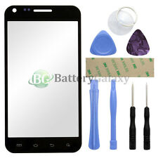 Black Replacement Screen Glass Lens for Samsung Galaxy S2 Epic 4G SPH-D710+Tools