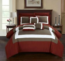 Chic Home 10-Piece Darren Complete Bed In a Bag Comforter Set