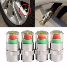 4 Car 2.4Bar Tire Pressure Monitor Valve Cap Sensor Indicator Eye Alert For FORD